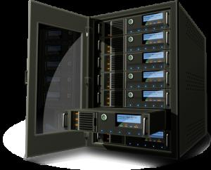 Dedicated-server-in-rack